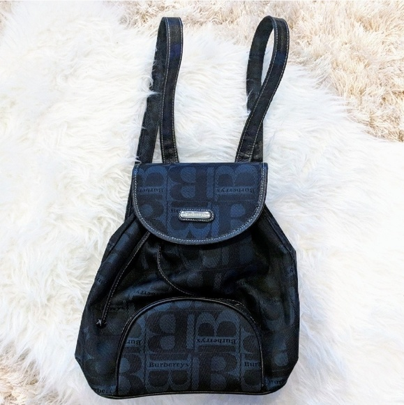 Burberry Handbags - Authentic Vintage Burberry Backpack